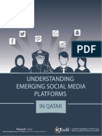 (Full Report) Understanding Emerging Social Media Platforms in Qatar