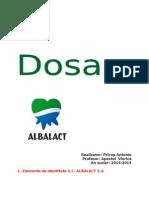 Proiect Albalact