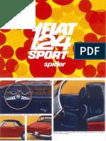 Fiat 124 Spider English