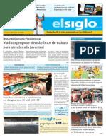 Edición Impresa Lunes 18-05-2015
