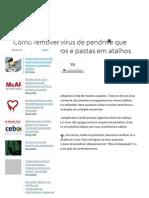 Como Remover Vírus de Pendrive Que Converte Arquivos e Pastas Em Atalhos - Tecmundo