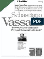 Antonio Gnoli Sebastiano Vassalli