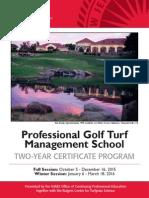 Rutgers Professional Golf Turf Management School