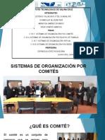 2.10.5 - 2.10.8 SISTEMA DE ORGANIZACION POR COMITES