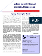 District A Happenings, May 15, 2015