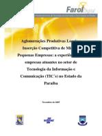 Aglomerações Produtivas Locais e Inserção Competitiva de MPEs