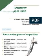 Upper Limb(Biomedic 1 Unismuh 2012)