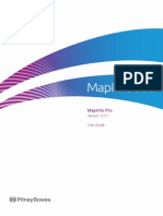 MapInfoProUserGuide Projections chapter