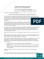 Compulsory Assignment December 2012
