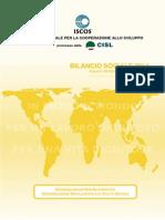 Bilancio Sociale ISCOS 2014 - Allegato Progetti