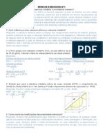 Lista de Exercícios - PFIII - Valter