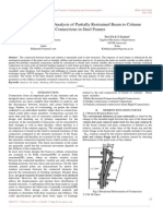 3 D Finite Element Analysis of Partially Restrained Beam to Column Connections in Steel Frames.pdf
