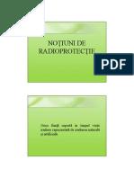 Notiuni de Radioprotectie