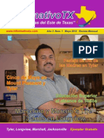 Informativo TX XXV Edición Mayo 2015