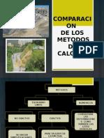 Comparacion Del Metodo Fellenius-estabilidad de presas