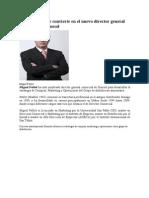 Miguel Poblet Se Convierte en El Nuevo Director General Comercial de Dinosol