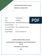 Laporan Praktikum Fisika Dasar Lr02