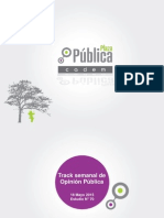 Plaza pública CADEM 70