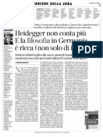 Gabriel, Heidegger Non Conta Più, E La Filos in Germ è Ricca Corr d Sera 17.05.15