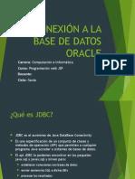 Class 6.1 - Conexion Java-Oracle