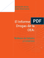 Informe de Drogas OEA