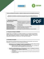 TDR Consutoría para plan y acciones de Incidencia sector café en RD