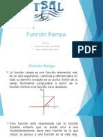 Funcion Rampa (datos