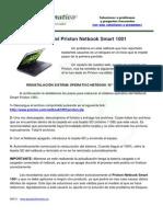 Bloqueo Prixton Netbook 1001