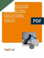 Best Practices for Language Education Videos
