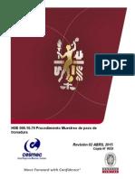 HSE 006-16-79 Procedimiento Muestreo de Pozo de Tronadura (Ok)