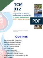 Co-generation Power Plant Study for DSA TCM#2-2012_PK