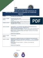 Programa Cidh Seminario