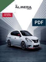 New Almera Facelift-brochure