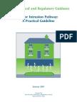 Vapor Intrusion Pathway - A Practical Guideline