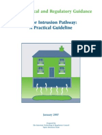 Vapor Intrusion Pathway - A Practical Guideline