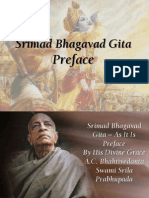 Bhagavad Gita As It Is Preface