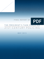 Report from The President's Task Force on 21st Century Policing