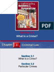 What is a Crime