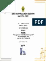 sertifikat indosat