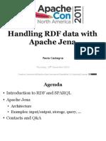 Handling RDF with Jena