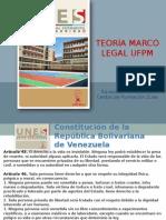 Teoria Marco Legal UFPM