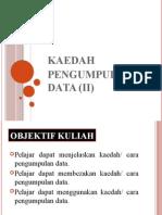 Topik8 Kaedah Pengumpulan Data KAJIAN PENYELIDIKAN (ACTION RESEARCH)