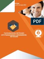 CURSO VIRTUAL Contrataciones Del Estado para Funcionarios y Proveedores