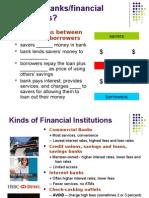 checking and savings accounts handout