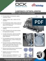 DFT MRX Immersion Sterilizer