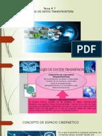 Tema # 7 Flujo de Datos Transfrontera