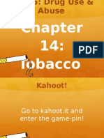chapter 14 - tobacco lecture