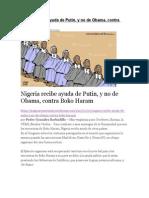 Nigeria Recibe Ayuda de Putin