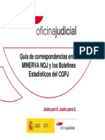 Guía de Correspondencias MINERVA-ESTADISTICA