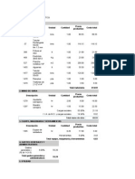 APU de Presupuesto